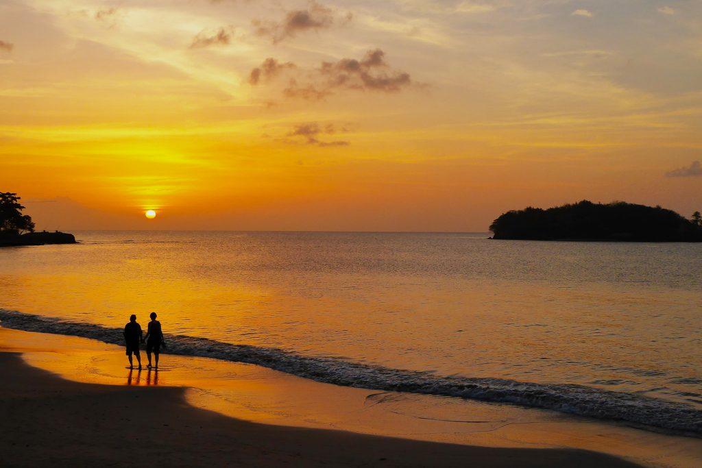 Rodney Bay St. Lucia Sunset